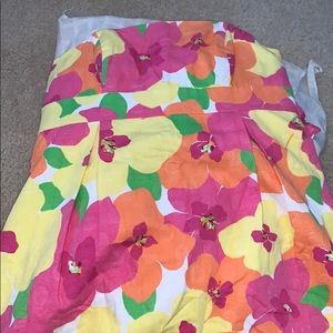 colorful floral Lilly Pulitzer dress